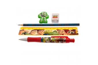 Toy Story 5 Piece Stationery Set (Multicoloured) (One Size)