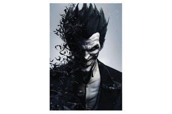 Batman Arkham Joker Poster (Black) (One Size)