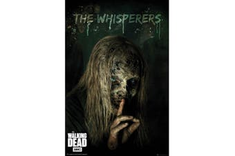 The Walking Dead Whisperers Poster (Black) (One Size)
