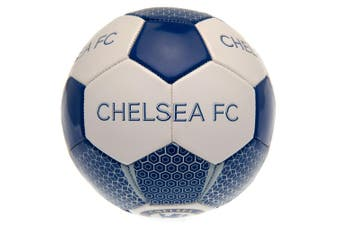 Chelsea FC Football (Blue/White) (One Size)