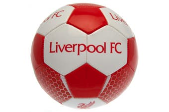 Liverpool FC Football (Red/White) (One Size)