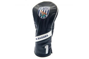 West Bromwich Albion FC Heritage Driver Headcover (Black) (One Size)