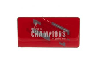 Liverpool FC Champions Of Europe Fridge Magnet (Red) (One Size)