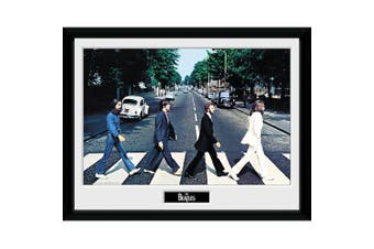The Beatles Abbey Road Framed Picture (Multicoloured) (One Size)