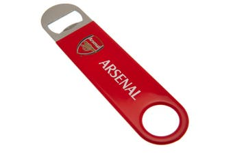 Arsenal FC Bottle Opener Magnet (Red) (One Size)