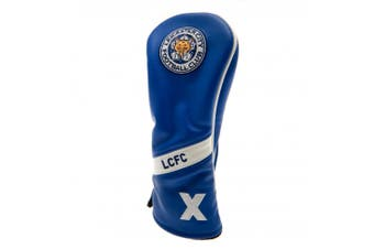 Leicester City FC Heritage Rescue Headcover (Blue/White) (One Size)