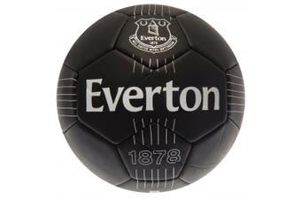 Everton FC Football (Black) (Size 5)