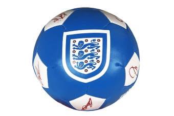 England FA Soft Ball (Blue) (One Size)