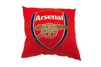Arsenal FC Cushion (Red) (One Size)