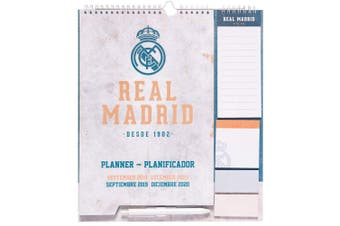 Real Madrid CF 2020 Year Planner (Multicoloured) (One Size)