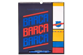 FC Barcelona 2020 Year Planner (Multicoloured) (One Size)
