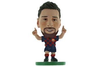 FC Barcelona Lionel Messi 2020 Version SoccerStarz (Navy/Red) (One Size)