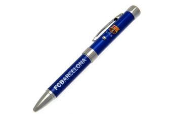 FC Barcelona Metal Projector Pen (Blue) (One Size)