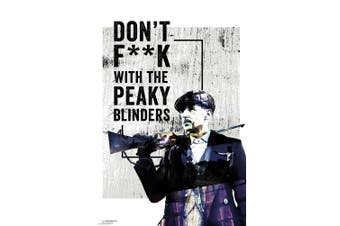 Peaky Blinders Arthur Shelby Poster (Grey) (One Size)