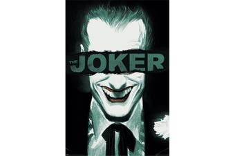 The Joker Happy Face Poster (Black/White) (One Size)