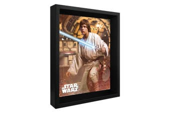 Star Wars Framed 3D Picture (Multicoloured) (One Size)