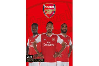 Arsenal FC 2020 Calendar (Red) (One Size)