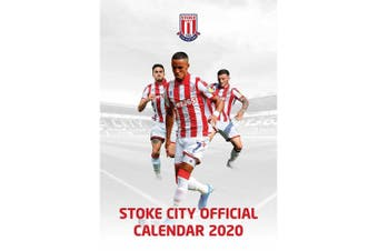 Stoke City FC 2020 Calendar (White) (One Size)