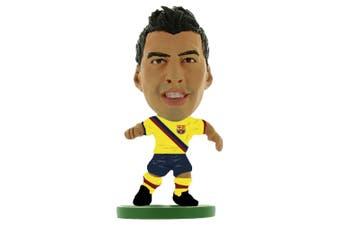 FC Barcelona SoccerStarz Suarez Figure (Yellow/Black) (One Size)