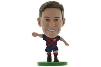 FC Barcelona SoccerStarz De Jong Figure (Navy/Red) (One Size)
