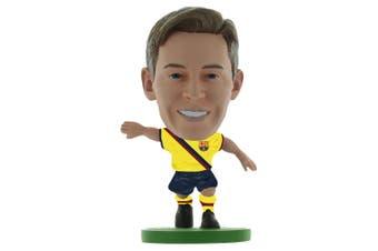 FC Barcelona SoccerStarz De Jong Figure (Yellow/Black) (One Size)