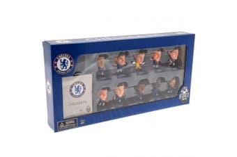 Chelsea FC SoccerStarz Team of Figures (Set of 10) (Blue) (One Size)