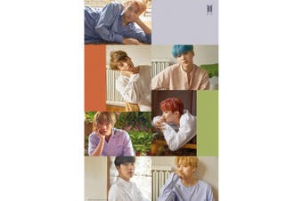 BTS Collage Poster (Multicoloured) (One Size)