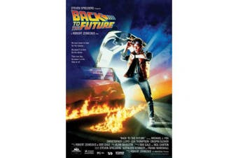 Back To The Future 108 Movie Poster (Black/Blue) (One Size)