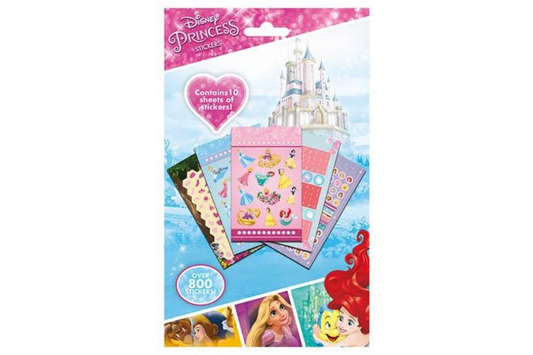 Disney Princess Sticker Set (Pack Of 10) (Multicoloured) (One Size)