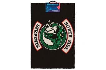 Riverdale South Side Serpents Doormat (Black) (One Size)