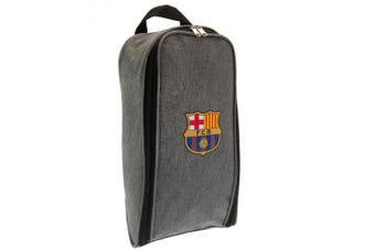 FC Barcelona Football Boot Bag (Grey) (One Size)