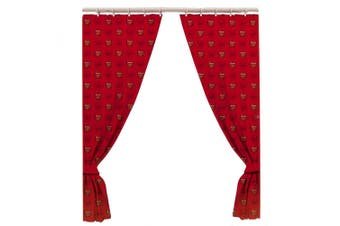 Arsenal FC Official Curtains (Red) (One Size)