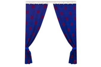 FC Barcelona Official Curtains (Blue) (One Size)
