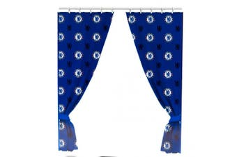Chelsea FC Official Curtains (Blue) (One Size)