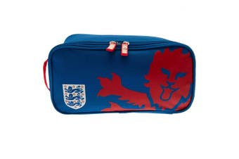England FA Football Boot Bag (Blue/Red) (One Size)