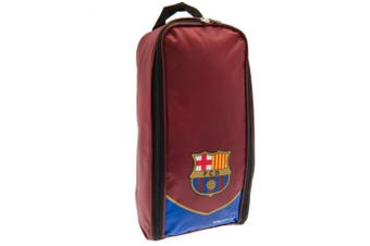FC Barcelona Football Boot Bag (Maroon/Blue) (One Size)