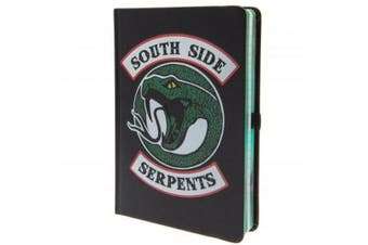 Riverdale South Side Serpents Notebook (Black/Green/White) (One Size)
