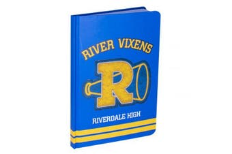 Riverdale River Vixens Crest Notebook (Blue/Yellow) (One Size)