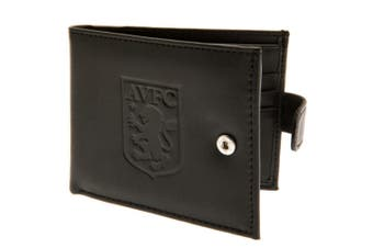 Aston Villa FC RFID Anti Fraud Wallet (Black) (One Size)