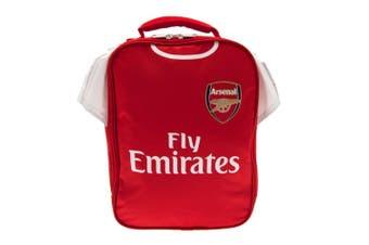 Arsenal FC Kit Lunch Bag (Red/White) (29 x 24 x 7cm)