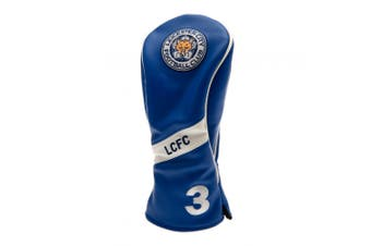 Leicester City FC Official Heritage Fairway Headcover (Blue) (One Size)