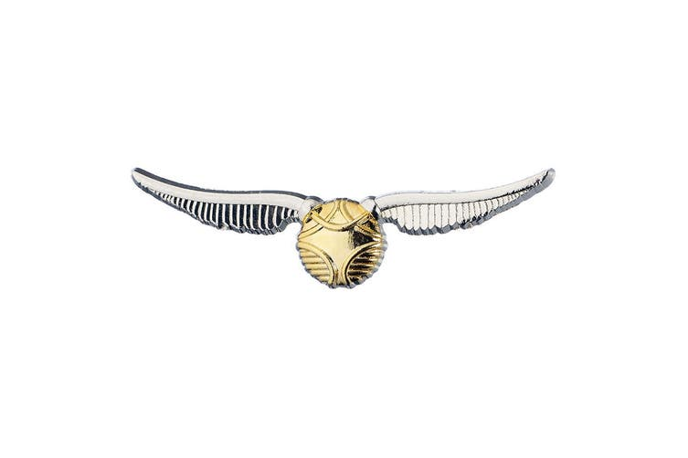 Harry Potter Golden Snitch Badge (Multicolour) (One Size)