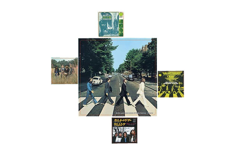 The Beatles Abbey Road Stickers (Multi-colour) (One Size)