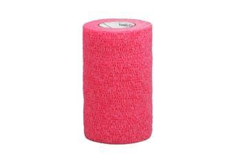 Vetrap 10cm Bandage (Red) (10cm)