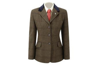 Caldene TEX Maids Silverdale Competition Jacket (Brown) (32 Inch)