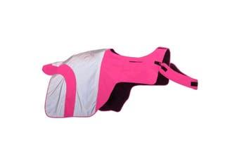 Equisafety Mercury Exercise Rug (Pink) (X-Full)