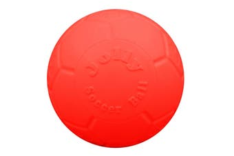 Jolly Pets Jolly Soccer Ball (Orange) (8 inches)