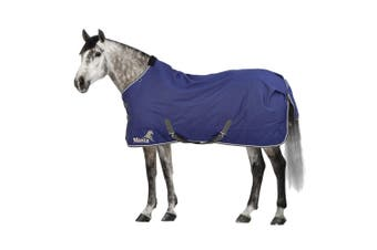 Masta Avante 170g Turnout Rug With Standard Neck (Navy Blue) (6 ft 6)