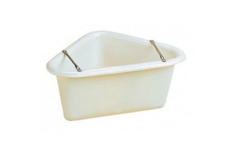 Stubbs Corner Manger (White) (One Size)