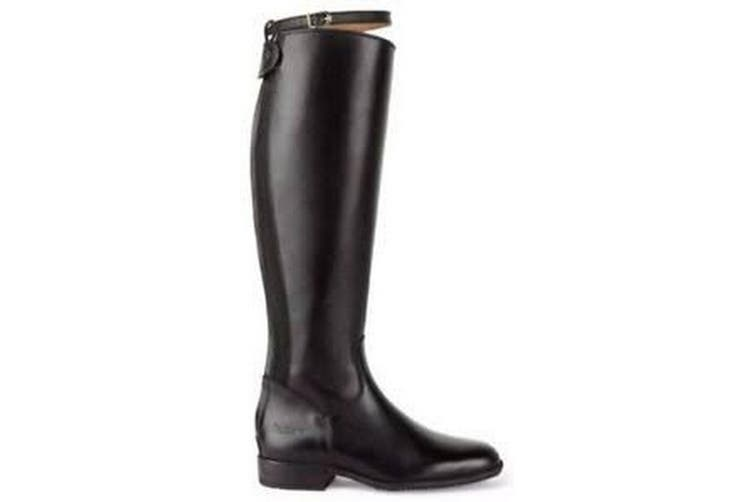 Caldene Adults Pendle Long Wide Riding Boots (Black) (6 UK)